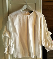 Bela srajcka, bluza