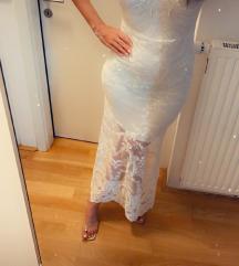 Bela obleka poročna