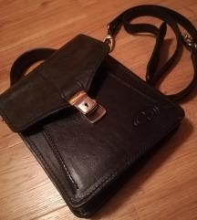 NOVA usnjena moška torbica