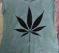Majica, brez rokavov, weed, moj ptt