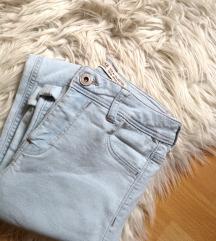 Light blue jeans (high waisted)