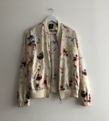 Bomber floral tanka jaknica