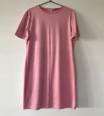 Zara faux suede obleka