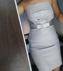 Orsay srebrna obleka S in M