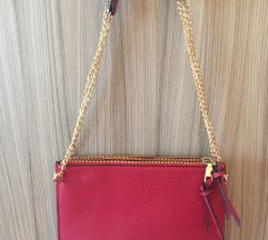 Rdeča envelope torbica