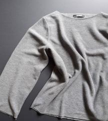 Siv pulovercek ZARA