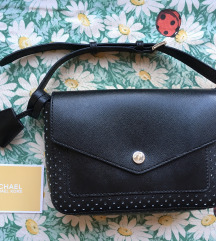 ZNIŽANA Michael Kors črna torbica - original, nova