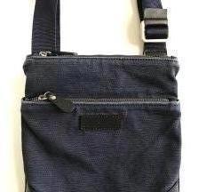 Whitewall modra bombažna torbica