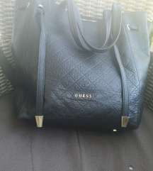 Guess luxe usnjena torbica