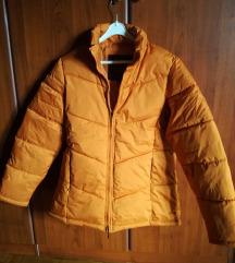 oranžna modna topla bundica