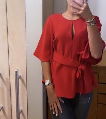 Zara rdeca bluza