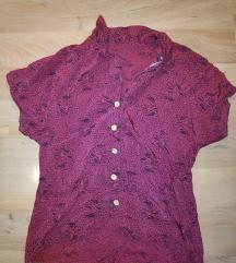 Vintage handmade srajčka s kratkimi rokavi