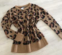 🌼 pleten tigrast pulover z etiketo 🌼