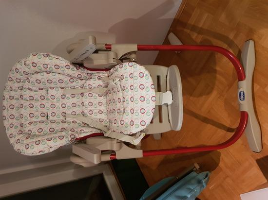 otroški stolček za hranjenje