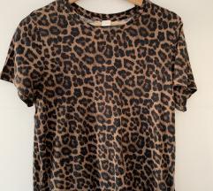 Kratka leopard majica H&M vel.S