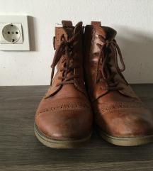 Rjavi usnjeni čevlji 37