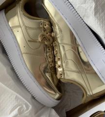 Nike air force-metallic gold✨✨