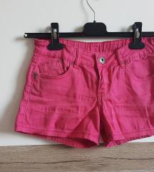 Roza pinky kratke hlače, XS