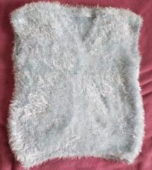 pleten pulover, brezrokavnik