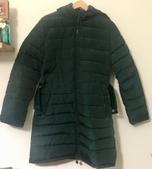 Zelena zimska bunda