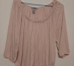 Bombazna majica-bluzica h&m
