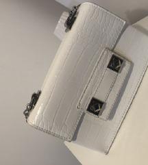 Bela torbica Zara
