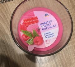 dišeča svečka *malina