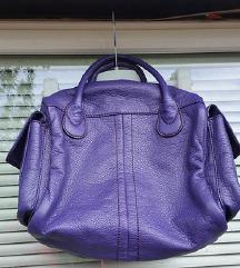H&M vijolična torbica