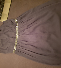 Temno modra Zara obleka