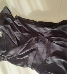 rez.FRACOMINA jumpsuit viskoza črn