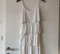 Bela kratka obleka