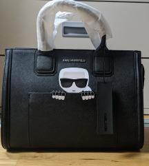 Karl Lagerfeld K/Ikonik Classic Tote Black