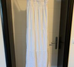 Dolga bela oblekica