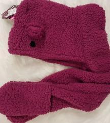Šal+kapa+rokavice