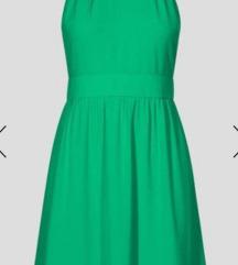 Zelena obleka A kroj ORSAY