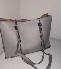 Zara usnjena torbica