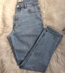 High waist kavbojke