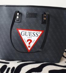 Original črna torba guess