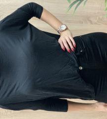 S.oliver majica, bordo in crna
