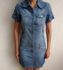 Obleka iz jeans