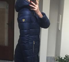 Modra bunda Emporio Armani