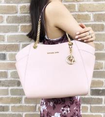 Michael Kors original pastelno roza torbica