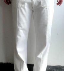 NOLITA bele jeans hlače