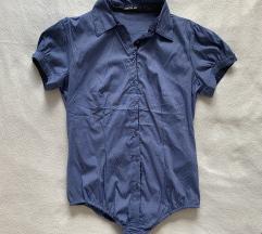 Temno modra body srajca