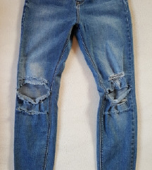 Stradivarius super high waist jeans M