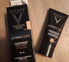 Vichy puder+peeling