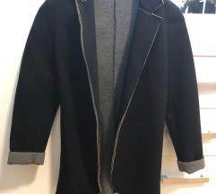 Črno siv blazer