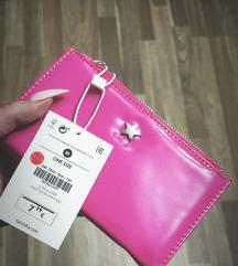 Nova denarnica z etiketo