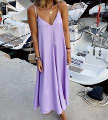 Zara vijolična obleka