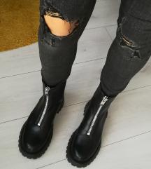 Jeans-temno siv